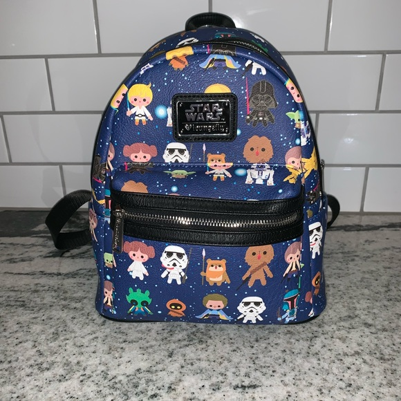 Loungefly Handbags - Star Wars Disney Loungefly mini backpack 2fc382f49e753